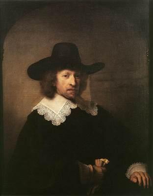 Rembrandt Portrait of Nicolaas van Bambeeck