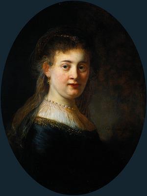 Rembrandt Portrait of Saskia van Uylenburgh