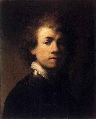Rembrandt Self Portrait In A Gorget