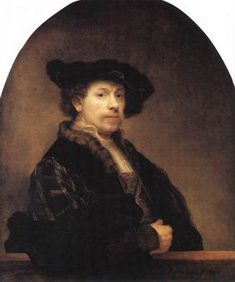 rembrandt self portrait