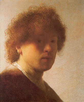 Rembrandt Self portrait c1628