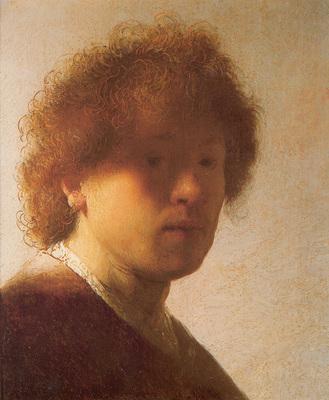 Rembrandt Self portrait c1628