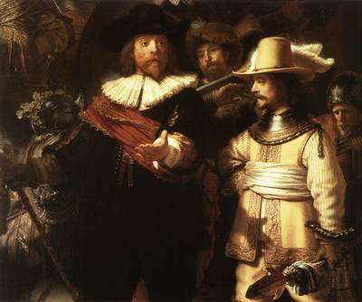 Rembrandt The Nightwatch detail1