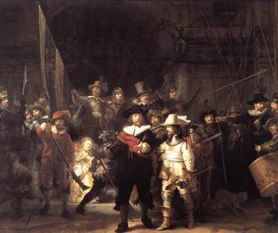 Rembrandt The Nightwatch
