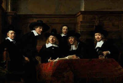 Rembrandt The Sampling Officials