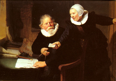 Rijn Rembrandt Van Jan Rijcksen And His Wife