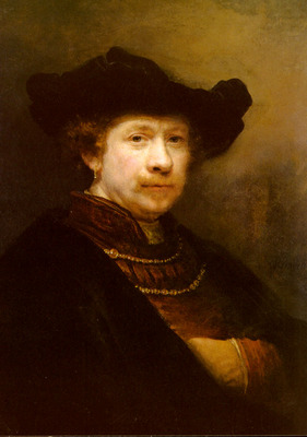 Rijn Rembrandt Van Portrait Of The Artist In A Flat Cap