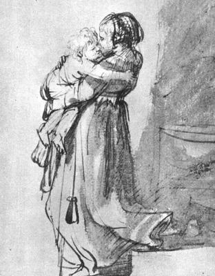 Saskia with a Child WGA