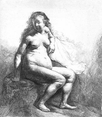 Seated Female Nude WGA