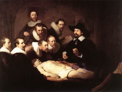 The Anatomy Lecture of Dr Nicolaes Tulp WGA