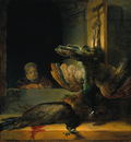 Rembrandt Dead peacocks