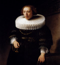 Rembrandt Portrait Of A Woman