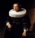 Rembrandt Portrait Of A Woman
