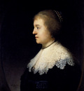 Rembrandt Portrait Of Amalia Van Solms
