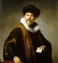 Rembrandt Portrait of Nicolaes Ruts