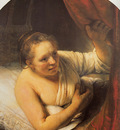 Rembrandt Sarah Waiting for Tobias