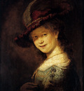 Rembrandt Saskia Laughing
