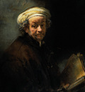 Rembrandt Self Portrait as the Apostle St Paul