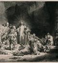 Rembrandt The Hundred Guilder Print