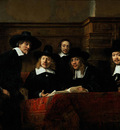Rembrandt The Sampling Officials