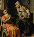 Rembrandt Tobit and Anna with a Kid