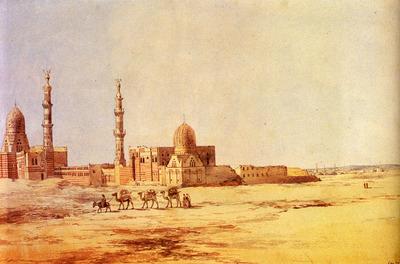 Dadd Richard Tombs Of The Khalifs Cairo