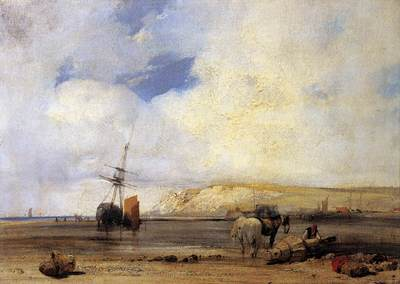 BONINGTON Richard Parkes On The Coast Of Picardy