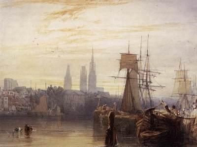 BONINGTON Richard Parkes Rouen