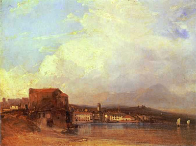 bonington richard parkes lake lugano