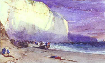 bonington richard parkes the undercliff