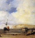 BONINGTON Richard Parkes On The Coast Of Picardy