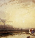 BONINGTON Richard Parkes Sunset In The Pays De Caux