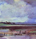 Bonington Richard Parkes Les Salinieres by Trouville