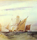 bonington richard parkes shipping off the coast of kent