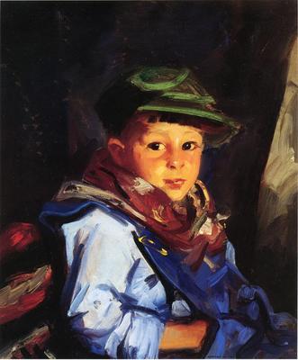 Henri Robert Boy with a Green Cap aka Chico