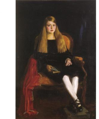 Henri Robert Portrait of Anne M  Tucker