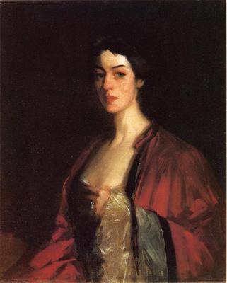 Henri Robert Portrait of Katherine Cecil Sanford