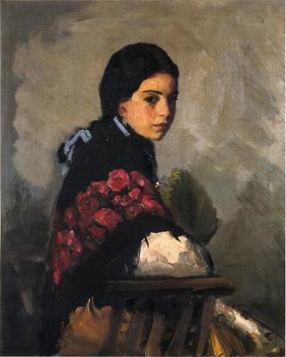 Henri Robert Spanish Girl