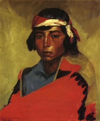 Henri Robert Young Buck of the Tesuque Pueblo