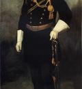Henri Robert Portrait of Colonel David Perry 9th U  S  Cavalry