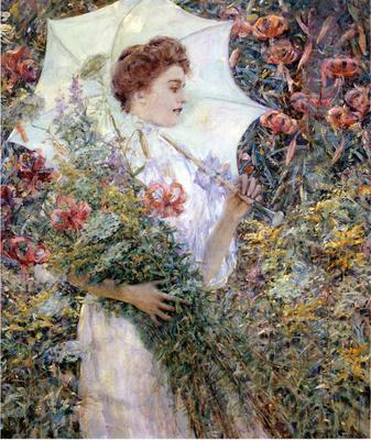 Reid Robert Lewis The White Parasol