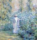 Reid Robert Lewis In the Flower Garden