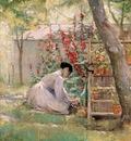 Reid Robert Lewis Tending the Garden
