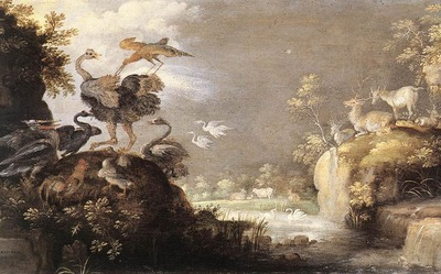 SAVERY Roelandt Landscape With Animals