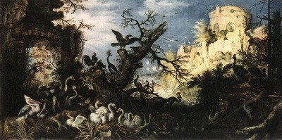savery roelandt landscape with birds