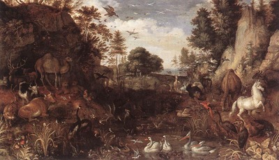 SAVERY Roelandt The Garden Of Eden