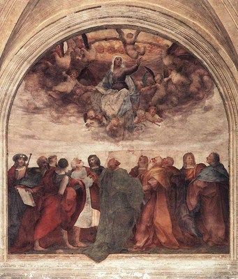 ROSSO FIORENTINO Assumption Of The Viorgin