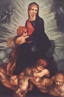 ROSSO FIORENTINO Madonna And Child With Putti