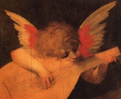 ROSSO FIORENTINO Musician Angel