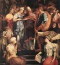 ROSSO FIORENTINO Marriage Of The Virgin